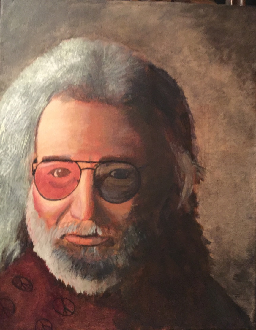 009 - Portrait of Jerry Garcia