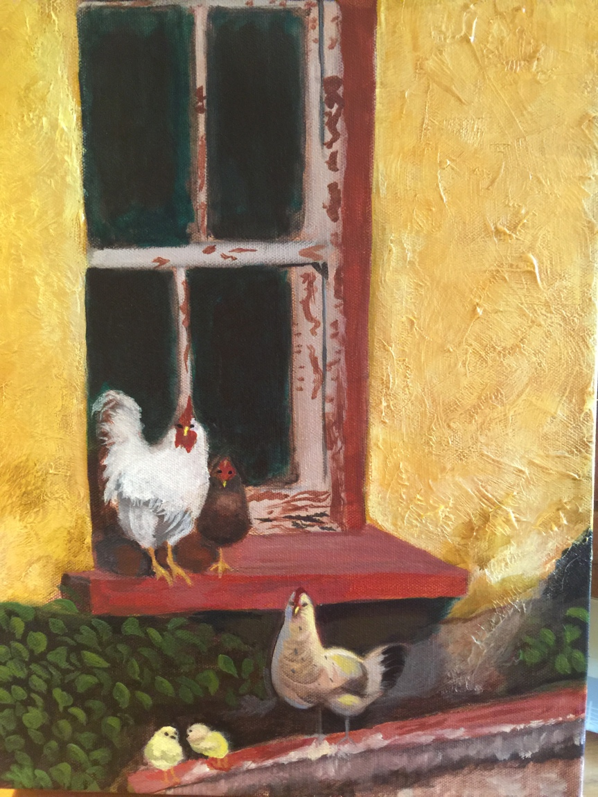 015 - Provence Chickens